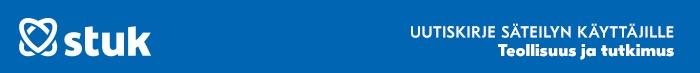 STUK teollisuuden ja tutkimuksen ProInfo-uutiskirje